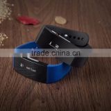 Intelligent Alarm Clock Waterproof Wrist Watch Bluetooth Smart Bracelet
