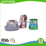 aluminum foil paper with factory price/aluminum foil roll for chocolate packaging with printing