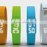 8gb Silicone USB Bracelet Watch LED USB Hidden Flash Drive Watch                                                                         Quality Choice
