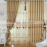 Luxury European style curtains embroidered full shading curtain custom finished Jane simple living room bedroom curtain cloth                                                                         Quality Choice