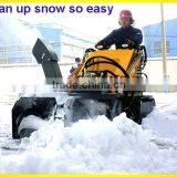 mini skid steer loader,snow blower,dingo Bobcat like,quick hitch,various attachments
