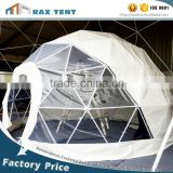 Geodesic dome tent Event dome tent White PVC cover White gazebo for sale