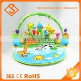 Best selling product plastic baby musical gym set toys and games kids