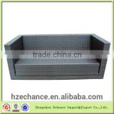 Outdoor Garden Furniture PE Rattan Folding Sofa/folding sofa bed part-FN4001