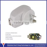 8W 5v1.5a Australian plug AC DC Power Adapter