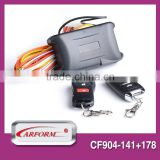 Excellent quality plc car alarm security system keyless entry system with filp key remote