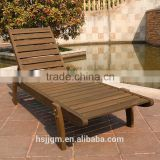 outdoor stackable wooden beach chair