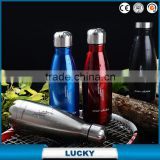Custom Protein Cocktail Shaker Colorful Plastic Bottle