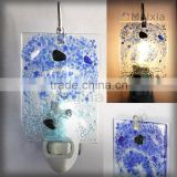 NTL201401 stained glass plug in fusing night light for home decoration                                                                         Quality Choice