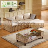 Italian Style Rattan Wicker Wooden Fabric Seat Living Room Furniture Sleeping Multifunctional Sofa Bed Trundle Beds