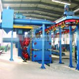Q58 series warranty, OEM acceptable,piled and released type shot blasting machine for sale