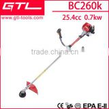 25.4cc new model 2 stroke weed & grass trimmer brush cutter BC260K                                                                         Quality Choice