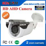 China CCTV Camera Wholesale Weatherproof 2MP Full HD CCTV Camera AHD Bullet 4x Manual Zoom Lens