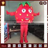 New arrive customized mascot strawberry costume