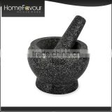 Strict Time Control Factory Customized Home Herb Spice Tools Granite Mortar & Pestle