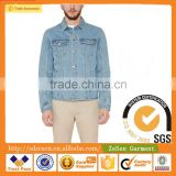 100% Cotton New Men's Denim Cotton Jeans Jacket Coat Casual Outwear Blue Size Vintage                                                                         Quality Choice