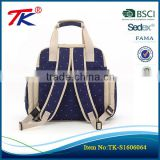 Durable quality customized multifunctional pregnant backpack nappy mummy diaper bag baby