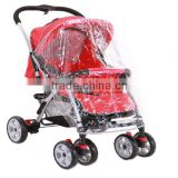 plastic rainproof cover for baby stroller for twins