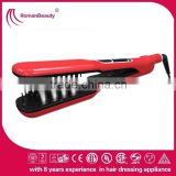 Electric steam function hair straightener/hair curler comb                                                                                                         Supplier's Choice