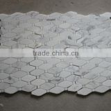 Hot sale octagon marble mosaic tile