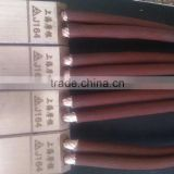 J164 copper graphite carbon brush for slip ring of AC Asynchronous motors
