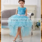 Frozen cotton dress girl Princess Aisha Tutu ELSA Essar short sleeved dress children dovetail