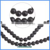 Wholesale 12mm Round Natural Matte Black Agate Beads Semi Precious Stone Strand With Tibetan Buddha Lucky Words PBS-A1204