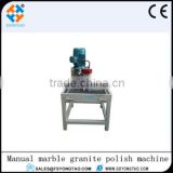 Manual polishing machine for marble , granite and stone