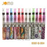 E cigarette Ego Q battery different designs and various batttery capacity