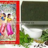 Pure and Natural Handmade 21 Herbs Ayurvedic Soap ~ Aromatherapy Glycerin Hotel Soaps ~ Handcrafted Herbal Skin Glow Soaps