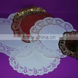 Round doilies paper