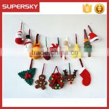 V-749 merry hang christmas decoration hand knit snowman hanging tree decoration knit christmas tree hanging ornament