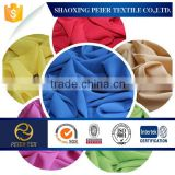 100%polyester crepe chiffon fabric for ladys dress in 2015