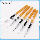 ANY Cheap Nail Art Beauty Line Painting Design Golden Metal Micro Nail Art Liner Brush