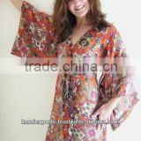 Bath gowns & kaftans Robes & rompers Caftans & Nightwear & beachwear ponchos dress