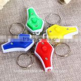 New design colorful fashional money detector with led light wholesale cheap uv led flashlight with keychain