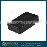 Hot black ABS plastic electronic junction box