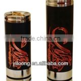 2015 Yiloong floating 510 center pin silver plated contacts copper mod 26650 stingray 26650 battery holders mod 26650