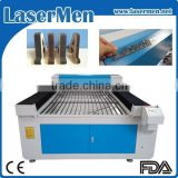 China widely used thin metal laser cutting machine / co2 stainless steel laser cutter LM-1325