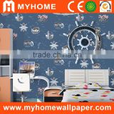Vinyl peel and stick wallpaper High quality kids wallpaper