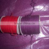 custom colored waxed cotton cords for jewelry, gift packaging, art and crafts, scrapbooking,