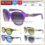 New Fashion Women Shades Designer Dragon Sunglasses Retro Demi Color Frame and CE, FDA, UV400 certificated