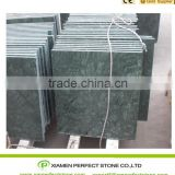Indian dark green marble cut-to-size polished green marble tile