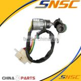 gold supplier china LONGKING loader transmission parts JK324C Electric lock switch Ignition switch