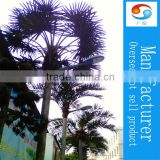 Palm led light tree lamp post outdoor landscape light up palm tree plant LED Chian products