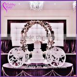 INquiry about New Arrival Cinderella Carriage Metal Cake Stand Wedding Decoration