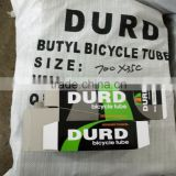 BUTYL bicycle tube 700x28-38 A/V 35mm 700x23-25 F/V 48mm DURO