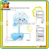 Educational toy touch led rechargeable battery operated table lamp