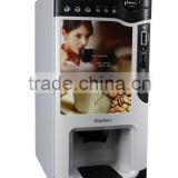 Hot selling automatic coin coffee vending machine/drink vending machine/table top coffee vending machine