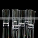 LFGB,FDA,CIQ,CE / EU,SGS,EEC Certification and Drinkware Type 2oz Long plastic mini shot glass, PS cup/Plastic wine cup